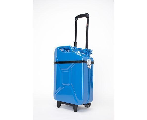 Valise Jerrican Fuel Bleu