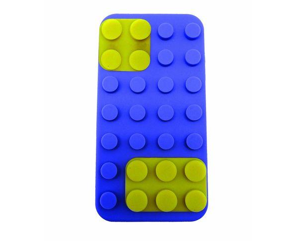 Coque iPhone 5 Building Bleue