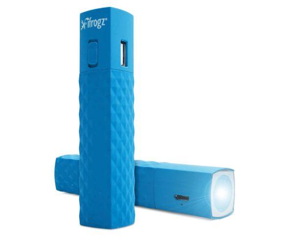 Batterie d'appoint pour smartphone avec torche-blue Ifrogz Golite 2600