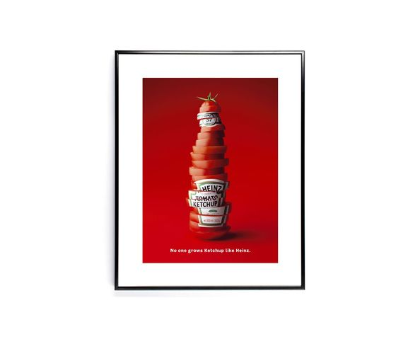 Affiche Heinz SLICED BOTTLE - Tirage argentique - Image Republic