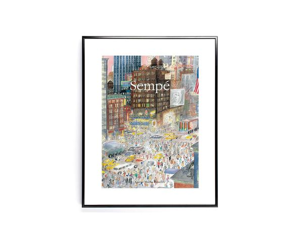Affiche Sempe NewYork  - Tirage argentique - Image Republic