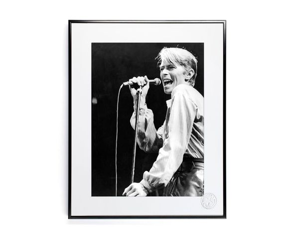 30x40 cm Photos D'art & D'archives BOWIE - Tirage Argentique - Image Republic