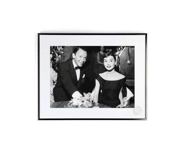 30x40 cm Photos D'art & D'archives HEPBURN SINATRA - Tirage Argentique - Image Republic