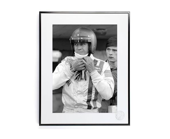 30x40 cm Photos D'art & D'archives STEEVE MCQUEEN 2 - Tirage Argentique - Image Republic
