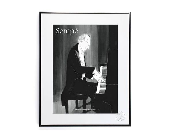 30x40 cm SEMPE PIANO - Tirage Argentique - Image Republic