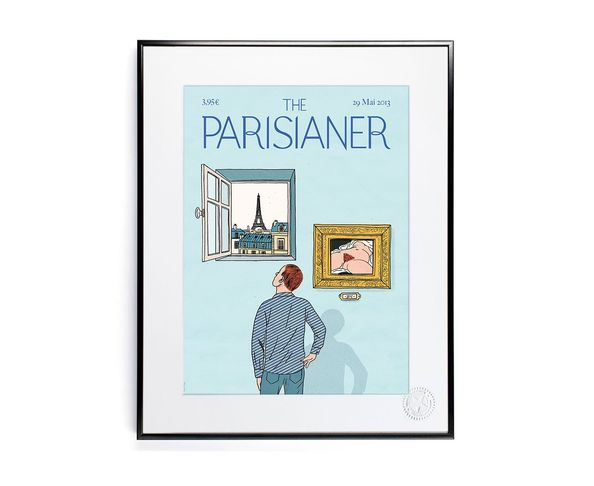 30x40 cm The Parisianer N01 ATTIGOBE - Tirage Argentique - Image Republic