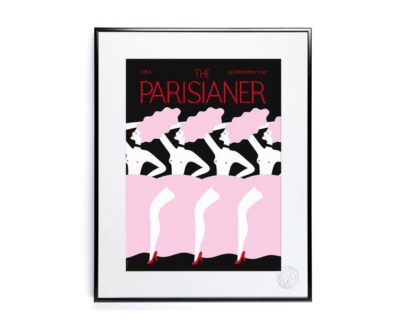 30x40 cm The Parisianer N02 ZAGNOLI - Tirage Argentique - Image Republic