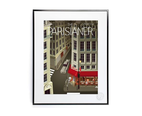 30x40 cm The Parisianer N04 ROCCO - Tirage Argentique - Image Republic