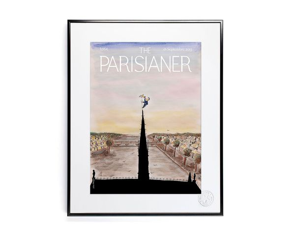 30x40 cm The Parisianer N08 PHOQUE - Tirage Argentique - Image Republic