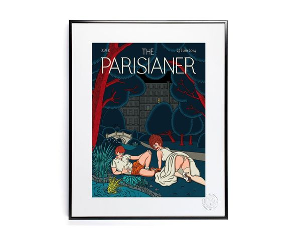 30x40 cm The Parisianer N21 BONNEMAIN - Tirage Argentique - Image Republic