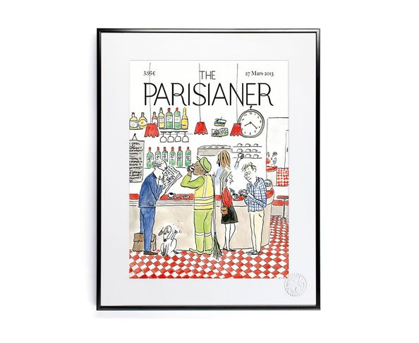 30x40 cm The Parisianer N22 BAILLY - Tirage Argentique - Image Republic