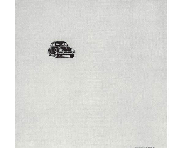Affiche Beetle 3 - Think Small  - Tirage argentique - Image Républic