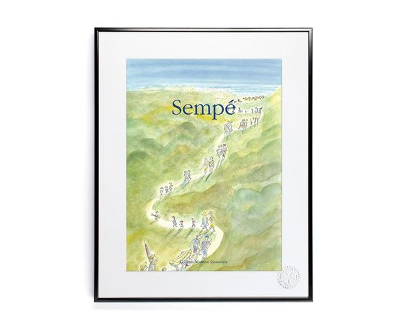 Affiche Sempe Chemin Dans Dunes  - Tirage argentique - Image Republic