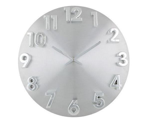 Horloge murale  XXL chiffres en relief