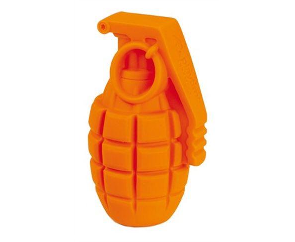 Jouet pour chien Grenade orange