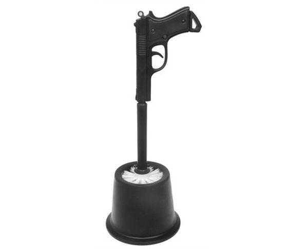 Brosse WC pistolet