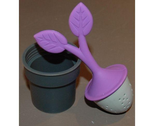 Infuseur à thé - arbre à thé violet