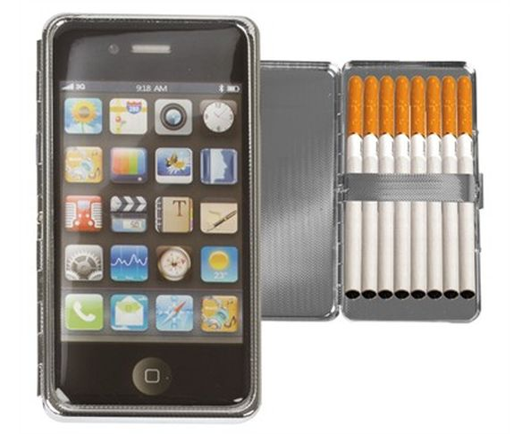 Etui à cigarettes en forme d'iPhone 4