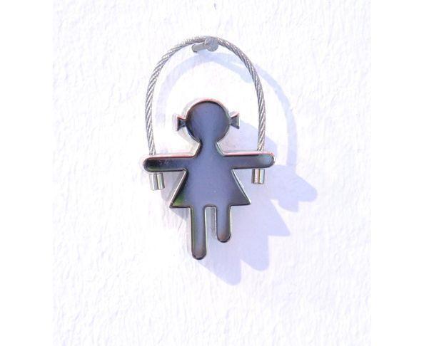 Porte-clefs fille