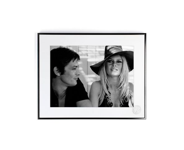 30x40 cm Photos D'art & D'archives BARDOT DELON DEJEUNER - Tirage Argentique - Image Republic