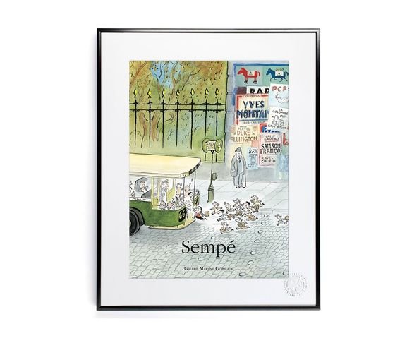 30x40 cm SEMPE BUS - Tirage Argentique - Image Republic
