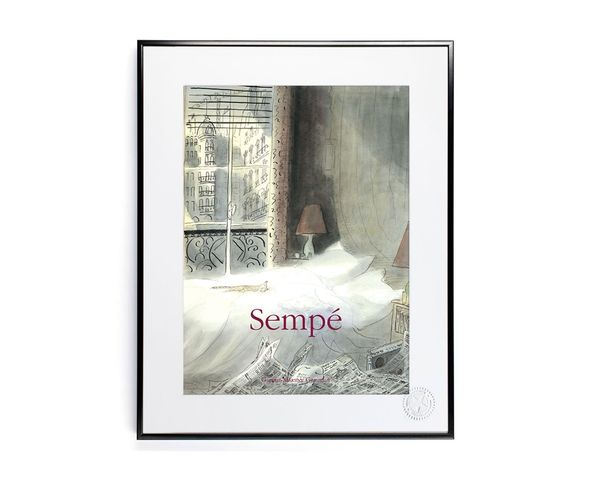 30x40 cm SEMPE SEMPE CHAT PARIS - Tirage Argentique - Image Republic