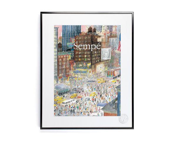 30x40 cm SEMPE NEWYORK - Tirage Argentique - Image Republic