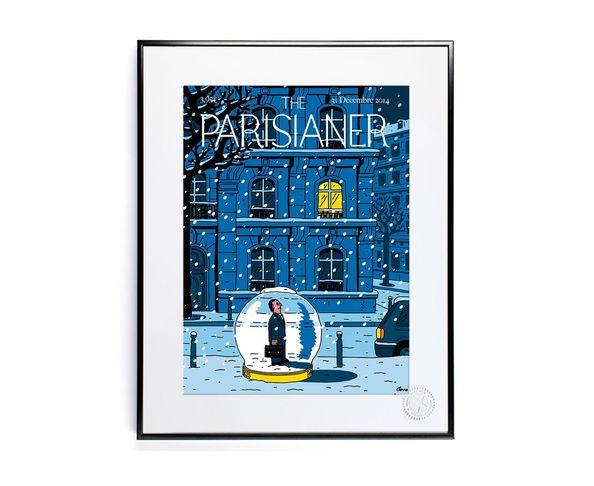 30x40 cm The Parisianer N03 SERRE - Tirage Argentique - Image Republic
