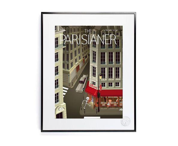 30x40 cm The Parisianer N04 ROCCO - Tirage Argentique - Image Republic