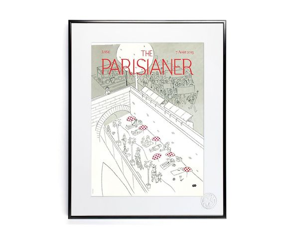 30x40 cm The Parisianer N07 POPPINS - Tirage Argentique - Image Republic