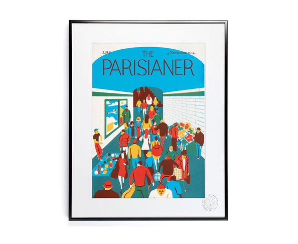 30x40 cm The Parisianer N10 MORGAND - Tirage Argentique - Image Republic