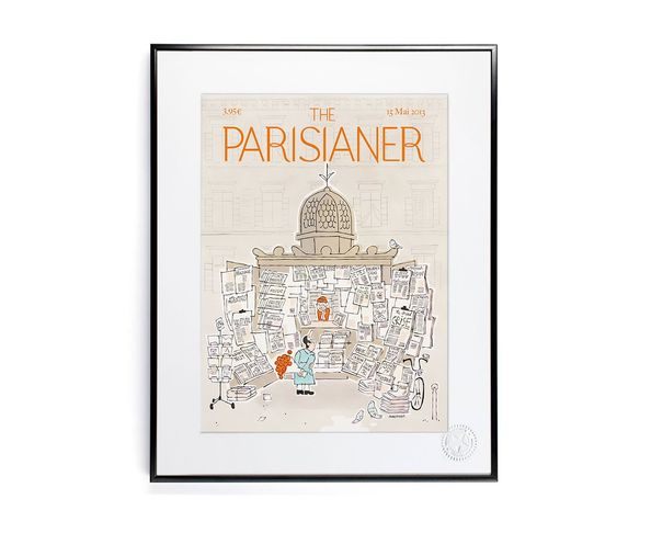 30x40 cm The Parisianer N13 MAUMONT - Tirage Argentique - Image Republic