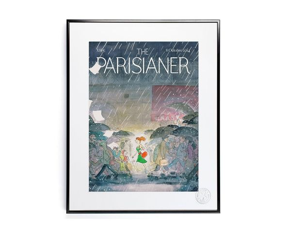 30x40 cm The Parisianer N14 LYET - Tirage Argentique - Image Republic
