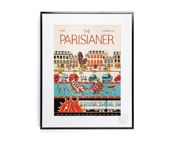 30x40 cm The Parisianer N18 FRANECK - Tirage Argentique - Image Republic