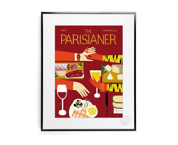 30x40 cm The Parisianer N19 FALIERE - Tirage Argentique - Image Republic