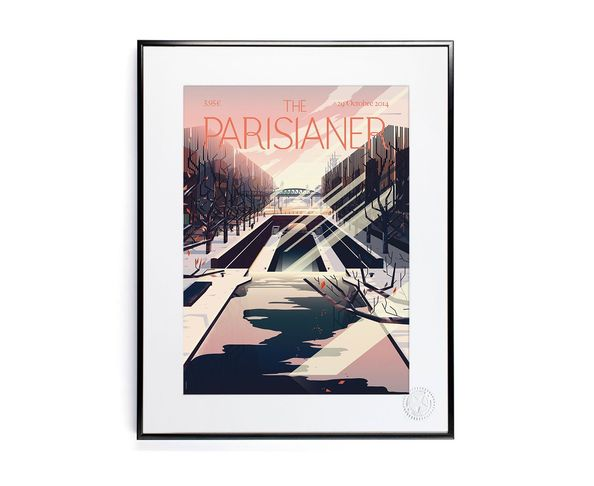 30x40 cm The Parisianer N20 CRUSCHIFORM - Tirage Argentique - Image Republic