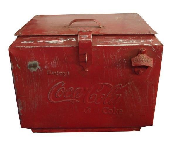 Glacière Coca-Cola vintage