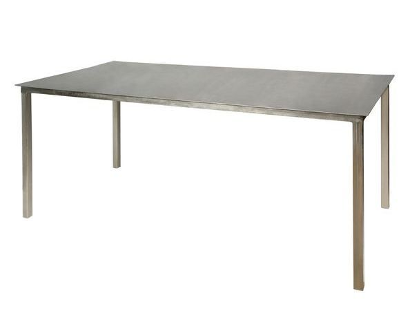 Table industrielle métal nickel
