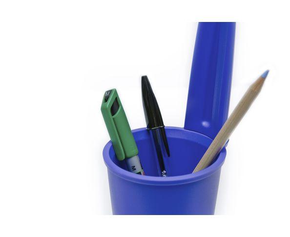 Pot à crayons 'Bouchon Bic', bleu