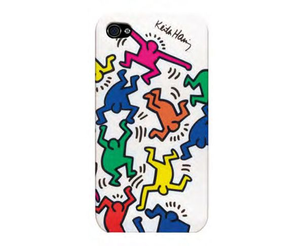 Coque iPhone 4/4S Keith Haring Dancers