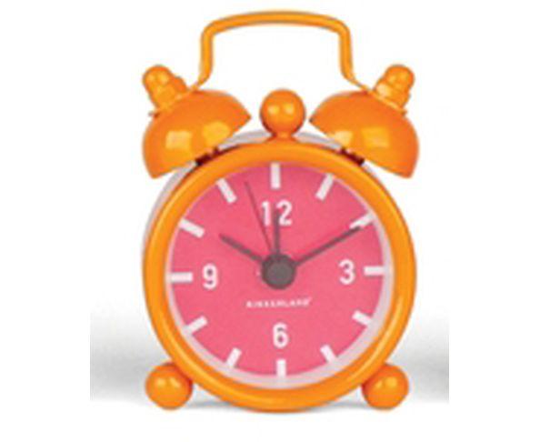 Porte-clés réveil mini orange