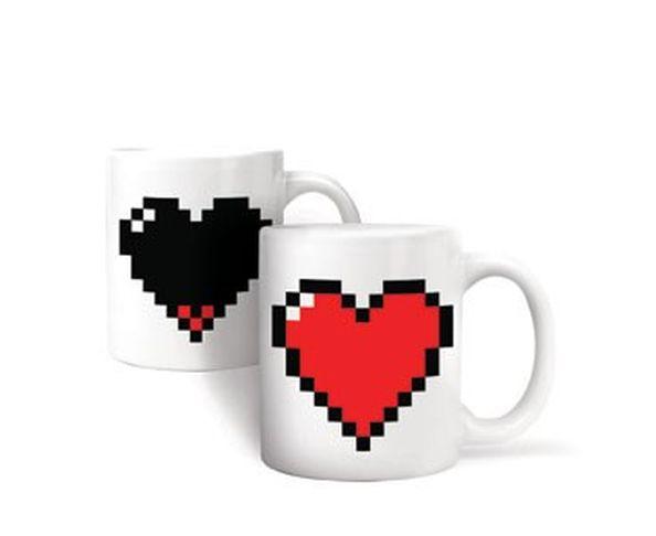 Mug Coeur Pixel