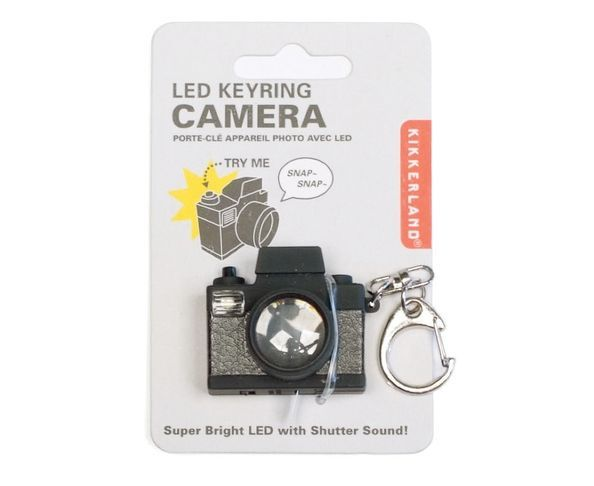 Porte-clés Appareil Photo 'Clichch' LED