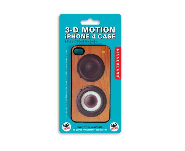 Etui/coque iPhone 4 en forme d'enceinte 3D Motion