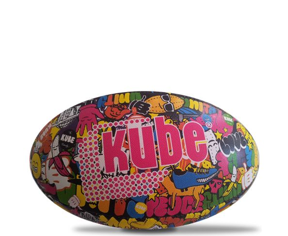 Ballon de rugby full party  - KUBE