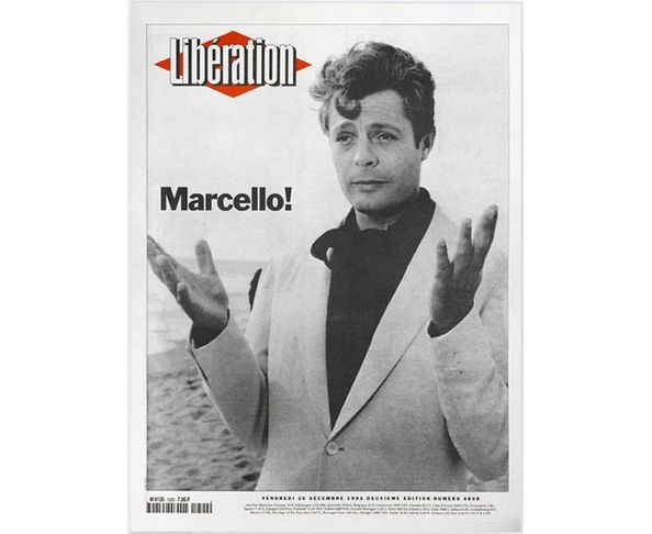 Affiche Libération - Marcello Mastroianni - Tirage argentique - Image Republic
