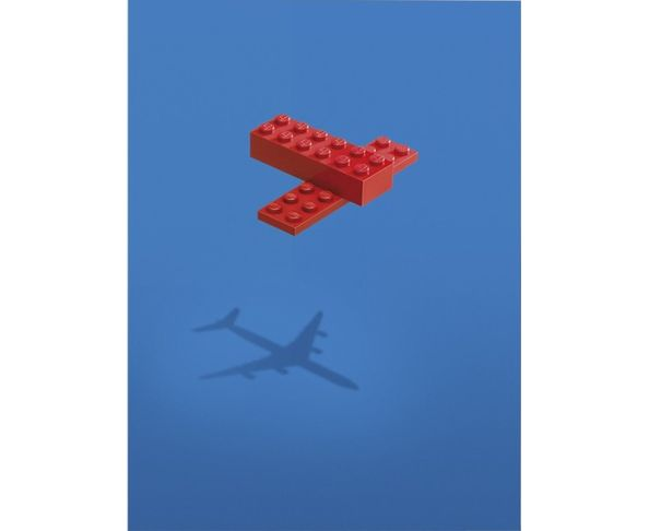 NE PLUS UTILISER Affiche Imagine - Lego Avion 003 - Tirage argentique - Image Republic