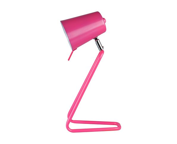 Lampe de table Z métal rose