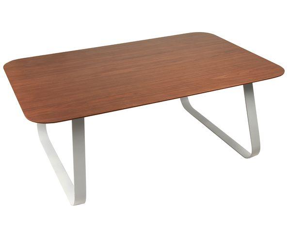 Table basse bois et acier pas cher - La redoute table basse ...