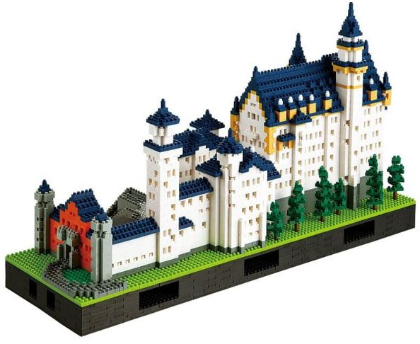 Nanoblock Schloss Neuschwanstein deluxe